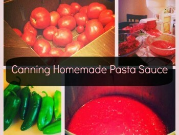 Canning Your Own Tomato Sauce