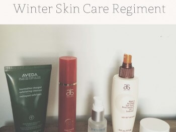 My Winter Weather Skin Care Regiment