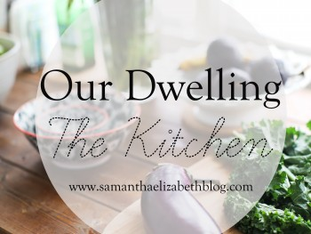 Our Dwelling: The Kitchen
