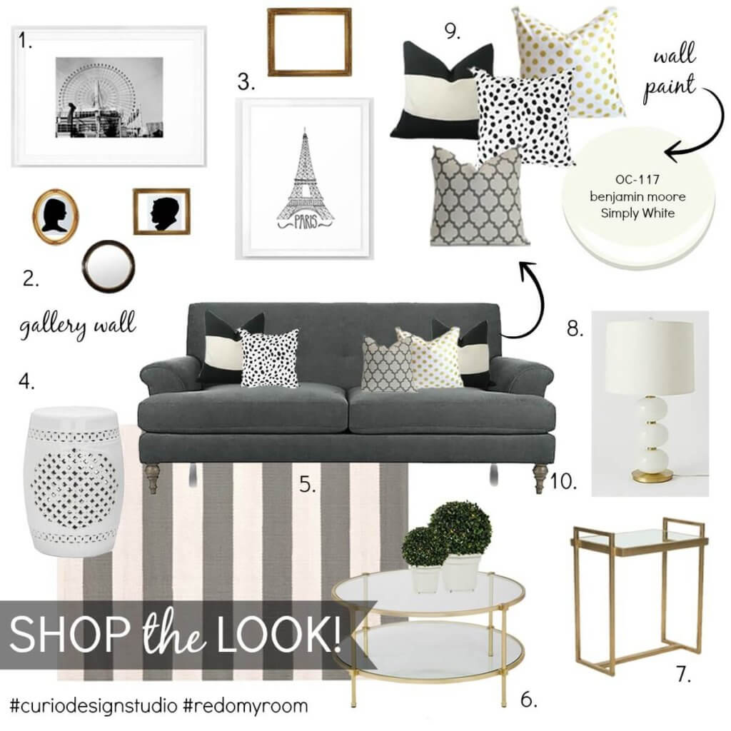 Shoppable Mood Board