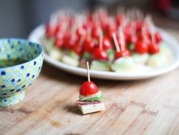 Recipe: Italian Appetizer Kabobs