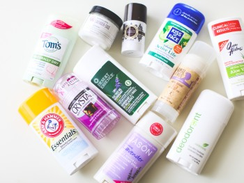 11 Natural Deodorants Put to the Test