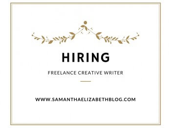 Hiring: Freelance Creative Writer