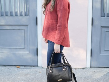 Sweater Style on Rainbow Row in Charleston