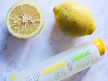 Hair Care with Beautiful Nutrition + Lemon Rinse