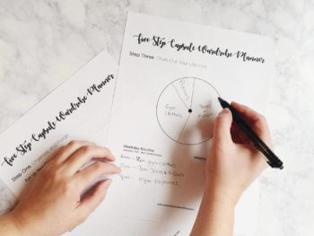 Capsule Wardrobe: Step 3 + Chart Out Your Lifestyle