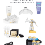 10 Useful Breastfeeding Tools & My Pumping Schedule