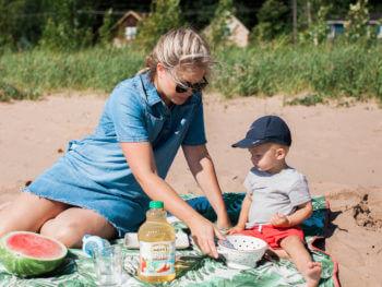 A Family Beach Picnic