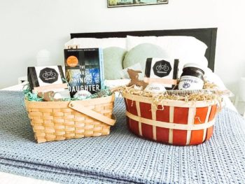 Welcome Baskets for House Guests: Marquette, MI Theme