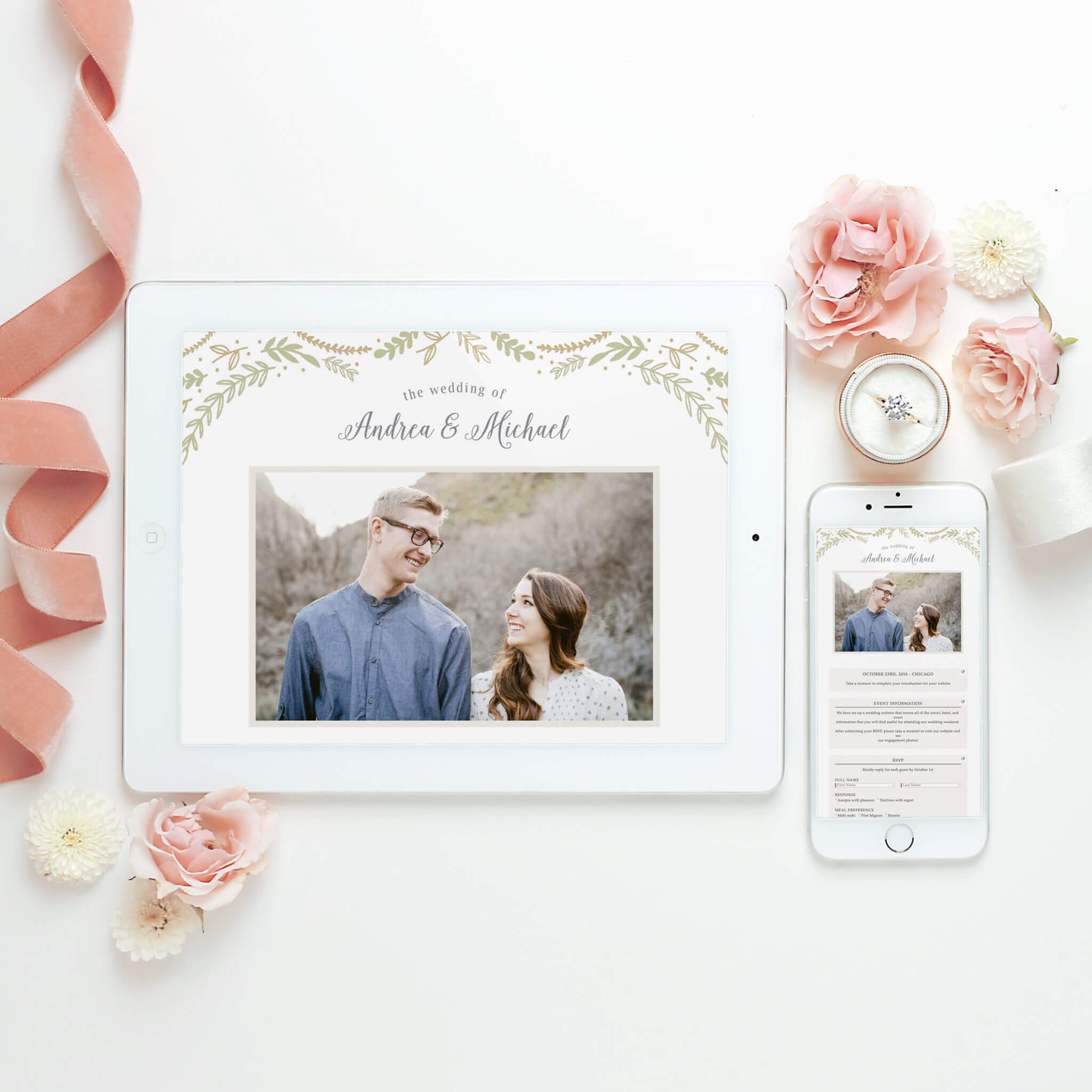 Beautiful Wedding Invitations, Announcements, and Websites with ...